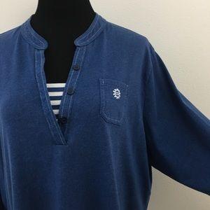🆕 Blue 3/4 Sleeve Top